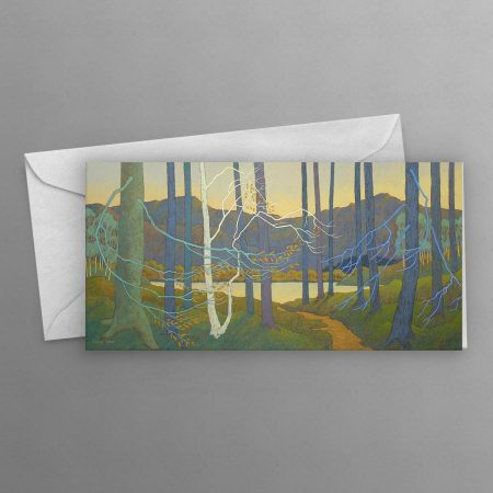 Beyond-the-Trees-the-Lake-was-Still-greeting-card-long