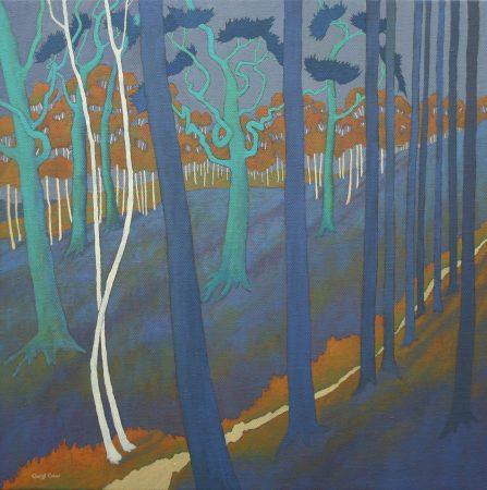 Culver-Cheryl-Slender Birch 29 x 29 inches £1400