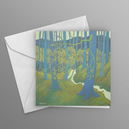Spring-was-in-the-Air-greeting-card-square