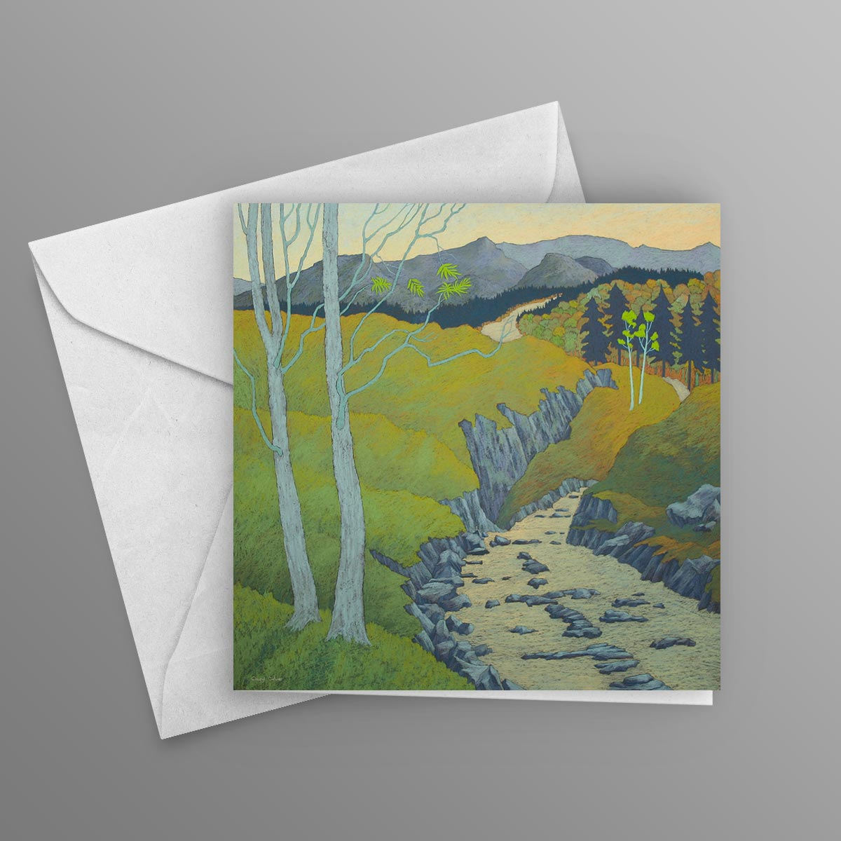 The magic of the fells greetings card 145mm x 145mm cheryl culver the magic of the fells greetings card kristyandbryce Images