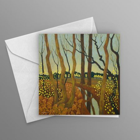 They-Hang-Suspended-until-Winter-takes-them-All-greeting-card-square