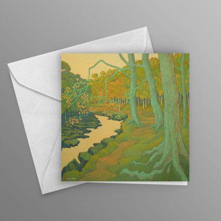 Wooded-Valley-greeting-card-square