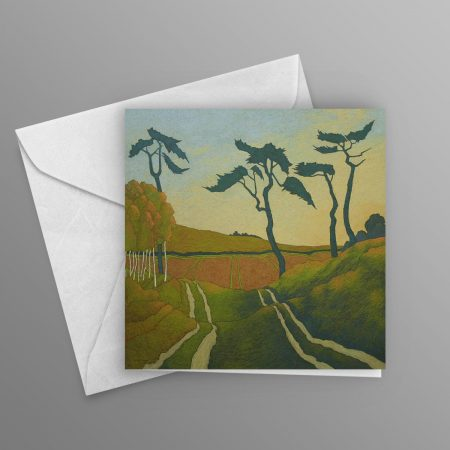 pines-and-tracks-greeting-card-square
