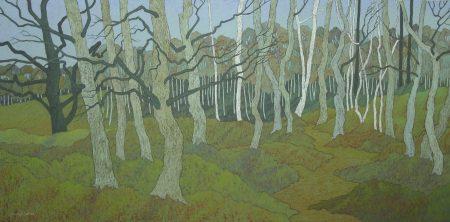 Marshy Woodlands Framed Size 112cm x 62cm