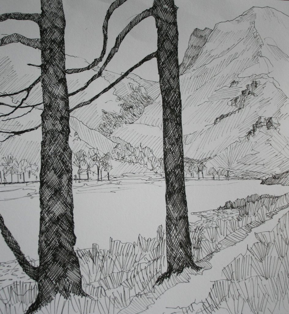 Cumbrian drawing 6