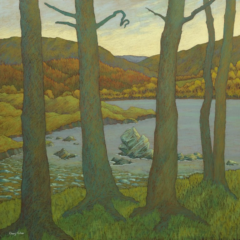 'Pines beside the Lake' £1,950