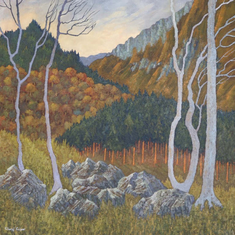 Wooded Slopes £1,100 SOLD