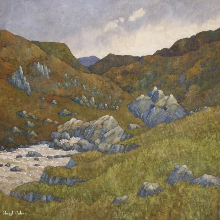 'Yonder Blue Hill' £725
