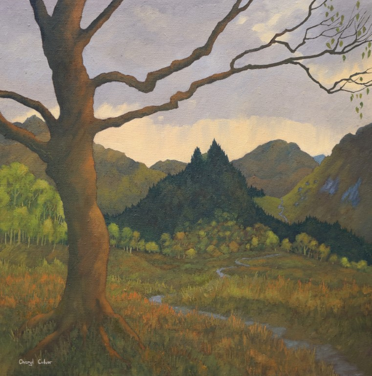 Storm over the Fells £750